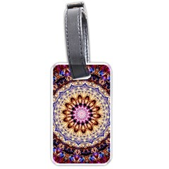 Dreamy Mandala Luggage Tags (one Side)  by designworld65