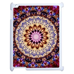 Dreamy Mandala Apple Ipad 2 Case (white) by designworld65