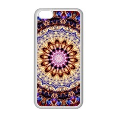 Dreamy Mandala Apple Iphone 5c Seamless Case (white) by designworld65