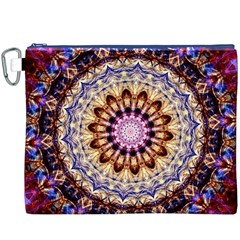 Dreamy Mandala Canvas Cosmetic Bag (xxxl) by designworld65