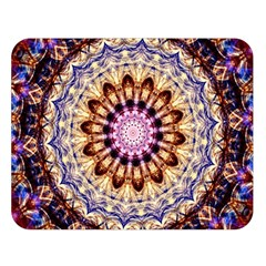 Dreamy Mandala Double Sided Flano Blanket (large)  by designworld65