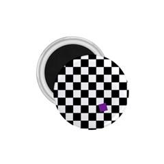 Dropout Purple Check 1 75  Magnets by designworld65