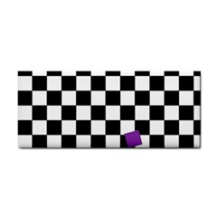Dropout Purple Check Cosmetic Storage Cases