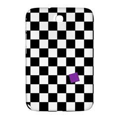 Dropout Purple Check Samsung Galaxy Note 8 0 N5100 Hardshell Case  by designworld65