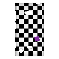 Dropout Purple Check Nokia Lumia 720 by designworld65