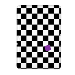Dropout Purple Check Samsung Galaxy Tab 2 (10 1 ) P5100 Hardshell Case  by designworld65