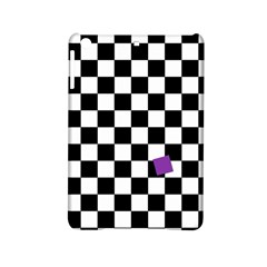 Dropout Purple Check Ipad Mini 2 Hardshell Cases by designworld65