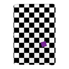 Dropout Purple Check Samsung Galaxy Tab Pro 10 1 Hardshell Case by designworld65