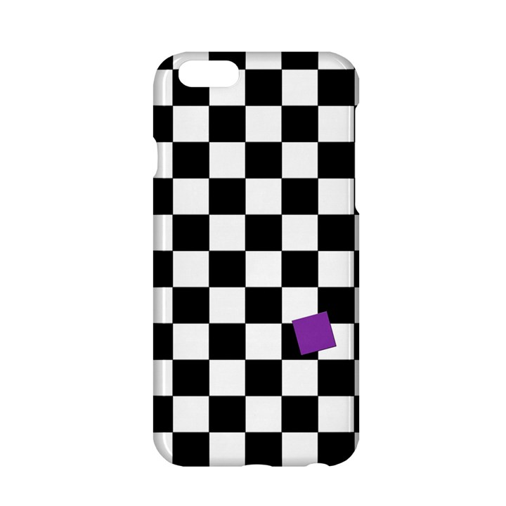 Dropout Purple Check Apple iPhone 6/6S Hardshell Case