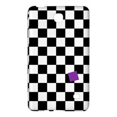 Dropout Purple Check Samsung Galaxy Tab 4 (7 ) Hardshell Case  by designworld65