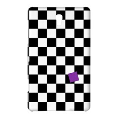 Dropout Purple Check Samsung Galaxy Tab S (8 4 ) Hardshell Case  by designworld65