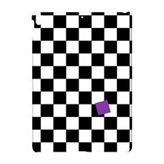 Dropout Purple Check Apple Ipad Pro 10 5   Hardshell Case by designworld65