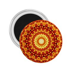 Powerful Love Mandala 2 25  Magnets by designworld65