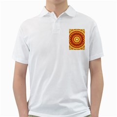 Powerful Love Mandala Golf Shirts