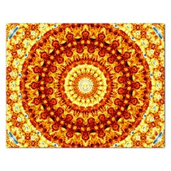 Powerful Love Mandala Rectangular Jigsaw Puzzl by designworld65