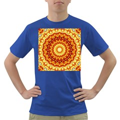 Powerful Love Mandala Dark T Shirt by designworld65