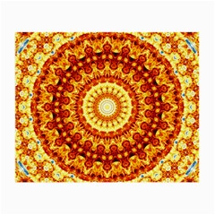 Powerful Love Mandala Small Glasses Cloth (2 Side) by designworld65