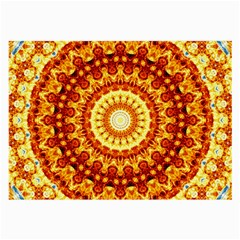 Powerful Love Mandala Large Glasses Cloth by designworld65