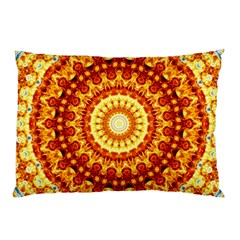 Powerful Love Mandala Pillow Case by designworld65