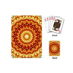 Powerful Love Mandala Playing Cards (mini)  by designworld65