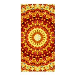 Powerful Love Mandala Shower Curtain 36  X 72  (stall)  by designworld65