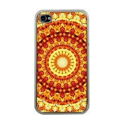 Powerful Love Mandala Apple Iphone 4 Case (clear) by designworld65