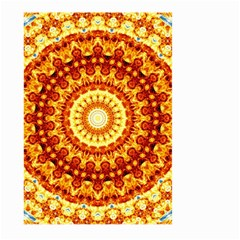 Powerful Love Mandala Large Garden Flag (two Sides) by designworld65