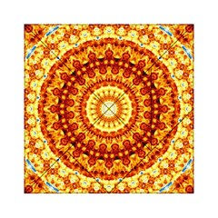 Powerful Love Mandala Acrylic Tangram Puzzle (6  X 6 ) by designworld65