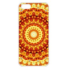 Powerful Love Mandala Apple Iphone 5 Seamless Case (white) by designworld65