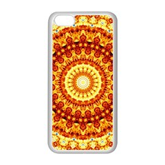 Powerful Love Mandala Apple Iphone 5c Seamless Case (white) by designworld65