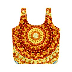 Powerful Love Mandala Full Print Recycle Bags (m)  by designworld65