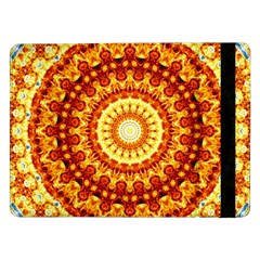 Powerful Love Mandala Samsung Galaxy Tab Pro 12 2  Flip Case by designworld65