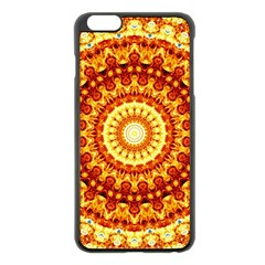 Powerful Love Mandala Apple Iphone 6 Plus/6s Plus Black Enamel Case by designworld65