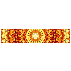 Powerful Love Mandala Flano Scarf (small) by designworld65