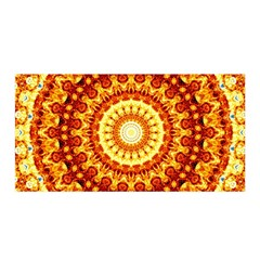 Powerful Love Mandala Satin Wrap by designworld65