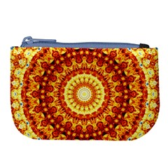 Powerful Love Mandala Large Coin Purse by designworld65
