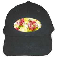 Flower Power Black Cap