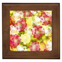 Flower Power Framed Tiles