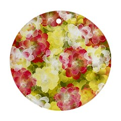 Flower Power Ornament (round)