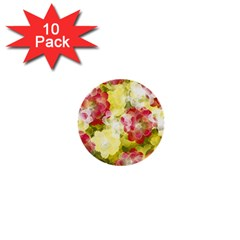 Flower Power 1  Mini Buttons (10 Pack)
