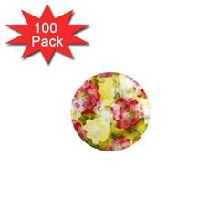 Flower Power 1  Mini Magnets (100 Pack)