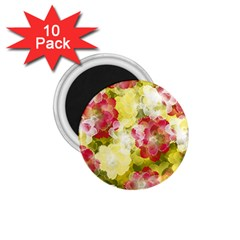 Flower Power 1 75  Magnets (10 Pack)
