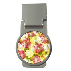 Flower Power Money Clips (round)