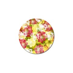 Flower Power Golf Ball Marker by designworld65