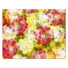 Flower Power Rectangular Jigsaw Puzzl