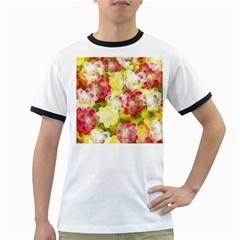 Flower Power Ringer T Shirts
