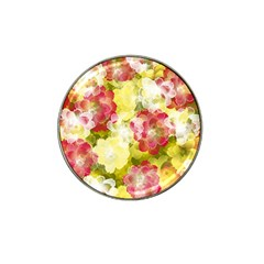 Flower Power Hat Clip Ball Marker