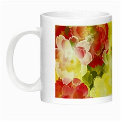 Flower Power Night Luminous Mugs