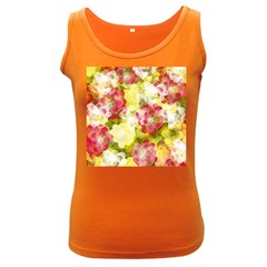 Flower Power Women s Dark Tank Top