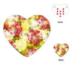 Flower Power Playing Cards (heart)  by designworld65